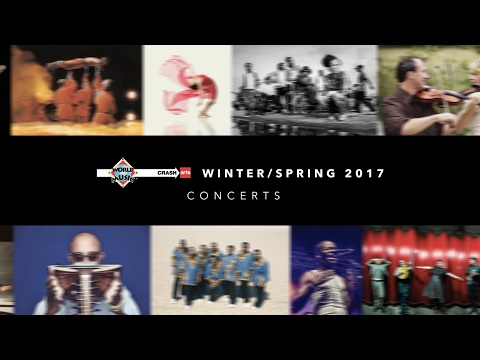 World Music/CRASHarts presents artists from 27 countries in Winter/Spring 2017