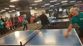 Битва корпораций 2017-18. Настольный теннис. 3 тур. Турбоатом - NovoAbrasive . Мужчины.