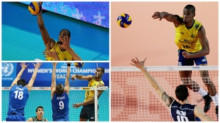 Top 10 Best Volleyball Spikes by Ricardo Lucarelli Souza