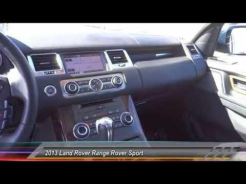 2013 Land Rover Range Rover Sport VAN NUYS LOS ANGELES SAN FERNANDO VALENCIA CANOGA PARK UC810961T