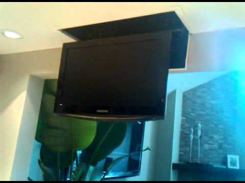 nexus 21 tv lift finished youtube. Black Bedroom Furniture Sets. Home Design Ideas