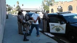 San Diego Police & California Highway Patrol