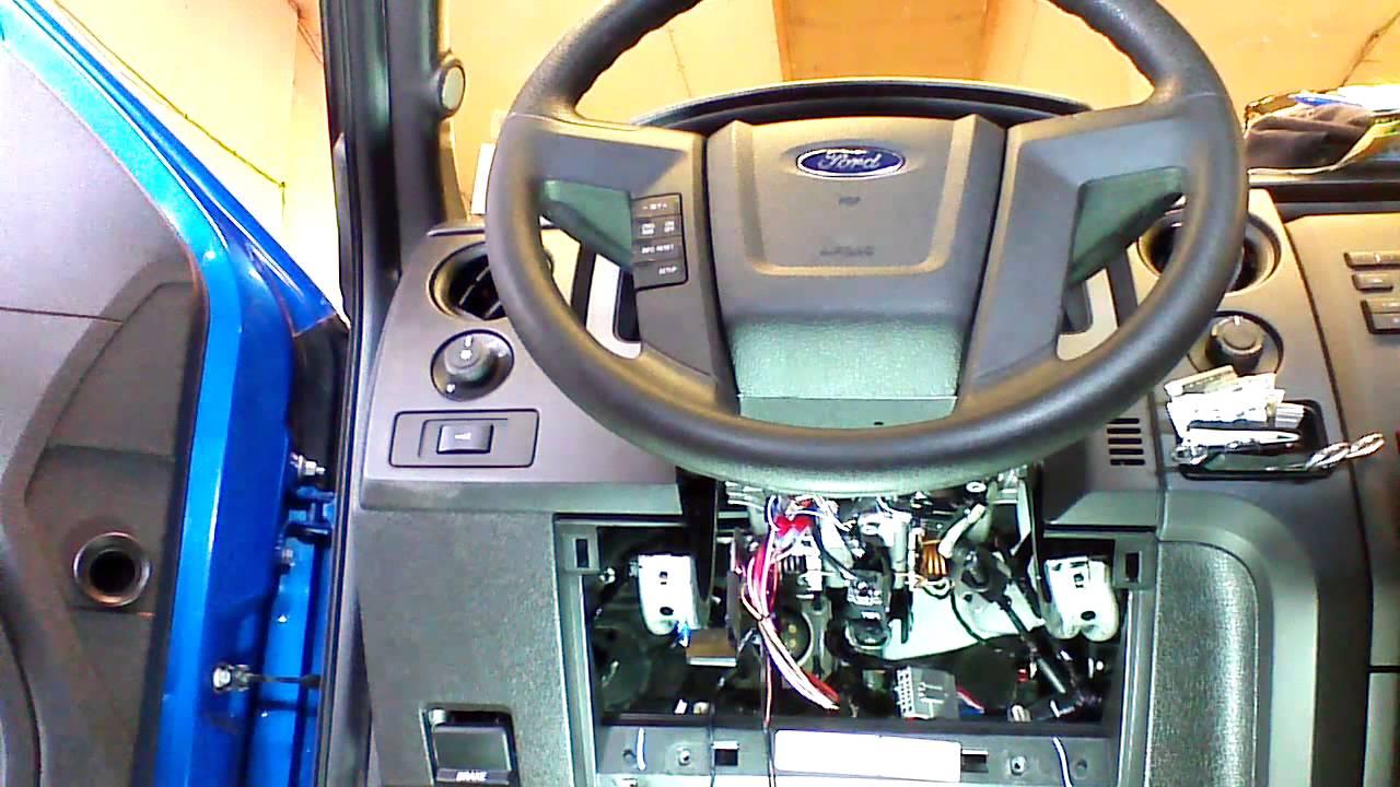 2008 ford f350 ignition wiring diagram lennox ac f 150 250 350 fast remote start installation youtube