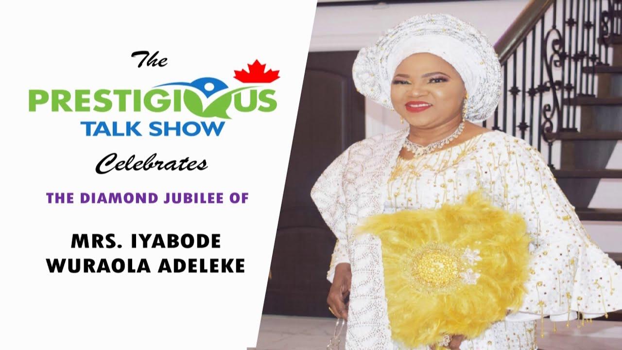 60TH BIRTHDAY CELEBRATION OF MRS IYABODE WURAOLA ADELEKE