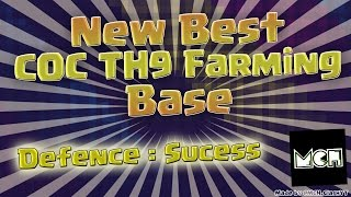 New Best Clash of Clans(CoC) TH9 Farming Base(TH9)--(2015)--(!Must Watch!)