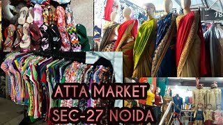 Atta Market Noida || Best place to shop clothes and accessories in noida || shine with bhavna