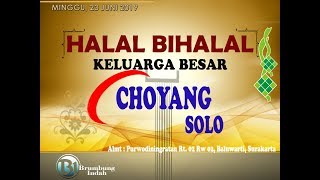 Gambar cover Halal Bihalal Keluarga Terapi Choyang Solo\\23 Juni 2019 #brumbungindah
