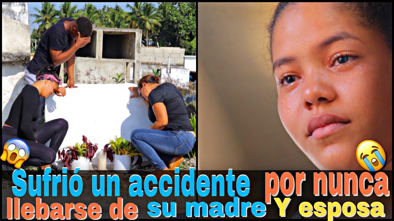 Sufrió un accidente por nunca llevarse de su madre y su esposa mira el final
