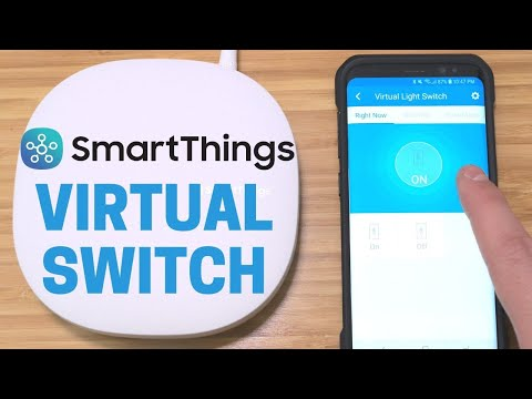 SmartThings Hack: Virtual Switch for any IFTTT Device