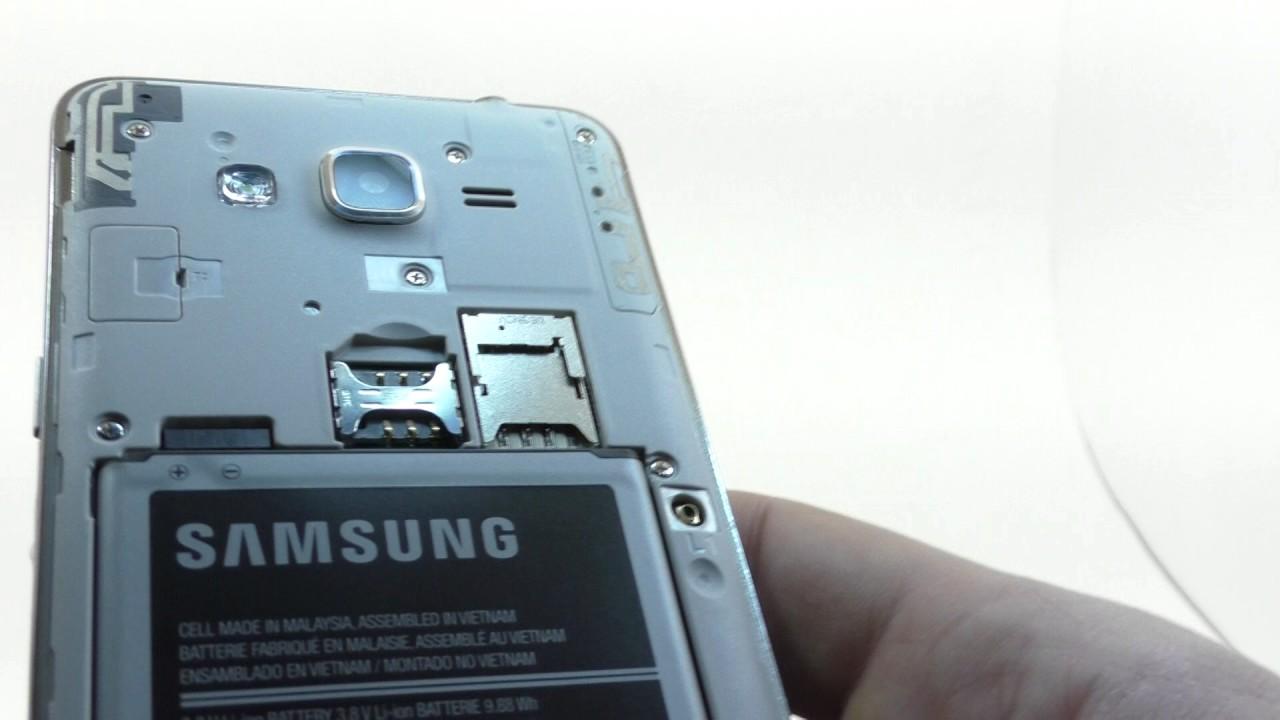 Видео обзор смартфона Samsung SM G532F Galaxy J2 Prime 8 Гб серебристый