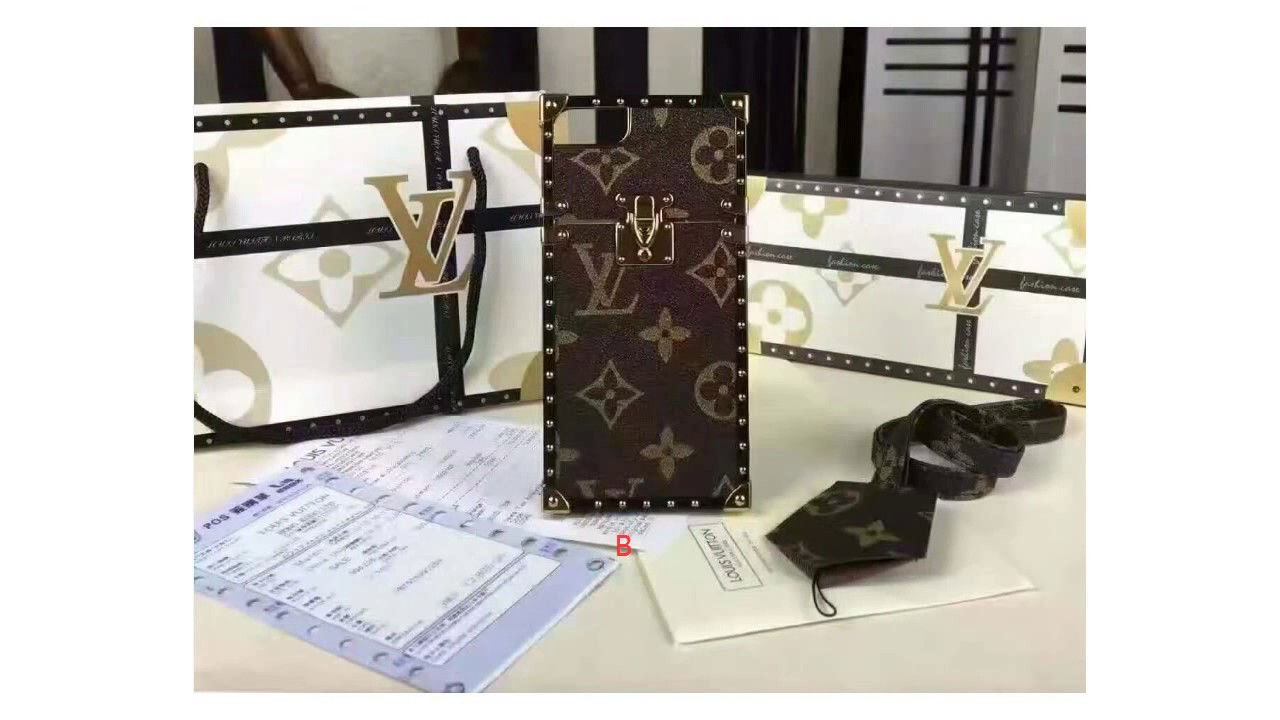 huge selection of 66ea1 3fddb 2016 Louis Vuitton Made The Petit Malle Bag a Phone Case iPhone 6/6s /6s  Plus / iPhone 7 / 7plus