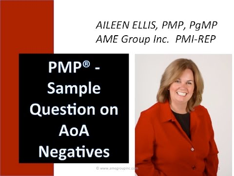 pmp exam sample question on aoa with aileen