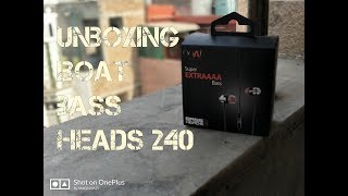 Boat Bass Heads 240 Unboxing and review