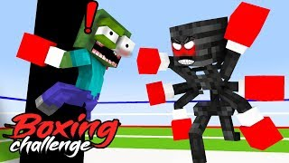 MONSTER SCHOOL : BOXING CHALLENGE - FUNNY MINECRAFT ANIMATION