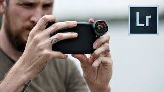 Mobile Photography - New LIGHTROOM app & lens overview! thumbnail