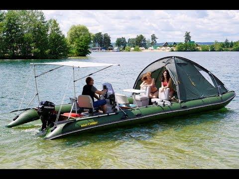 Прогулочный катамаран для сплава и путешествий Travel Max 830