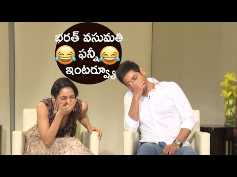 Bharat & Vasumathi funny interview || Mahesh Babu & Kiara Advani interview about Bharat Ane Nenu