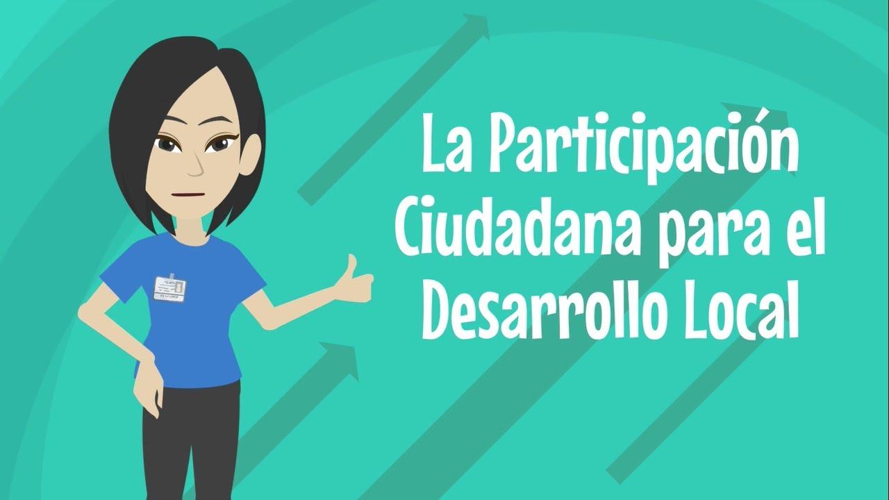 La Participación Ciudadana para el Desarrollo Local