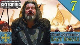 12,000 NORMAN BEACH LANDING Total War Saga Thrones of Britannia East Engle C aign Gameplay 7