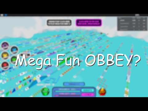 Mega Fun Obby - Completion (Voice Reveal)