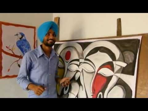 Kps Gill - Sikh painter from Amritsar