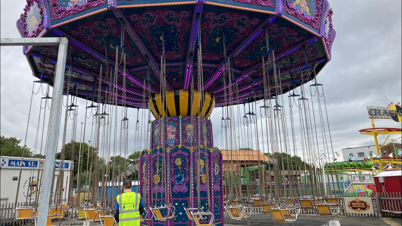 Ocean Beach Pleasure Park South Shields - Wave Swinger POV