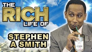 Stephen A Smith | The Rich Life | ESPN $10 Million Dollar Sports Analyst