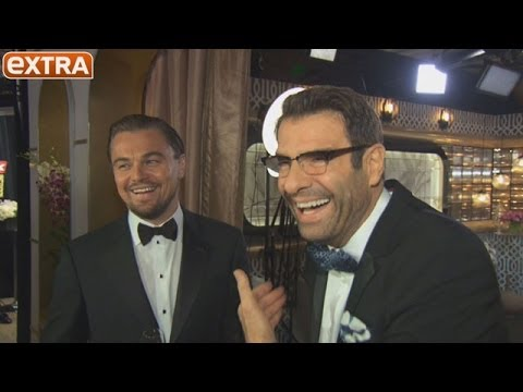 Backstage at the Golden Globes: Leonardo DiCaprio Thanks His Mom