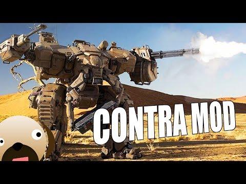 USA ROBOTS GENERAL VS TWO INSANE AI - Contra Mod C&C Generals Zero Hour Mod