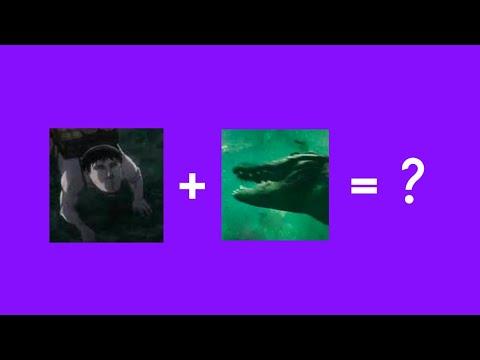 CROCODILE MONSTER FROM CRAWL + CART TITAN FROM SHINGEKI NO KYOJIN = ?