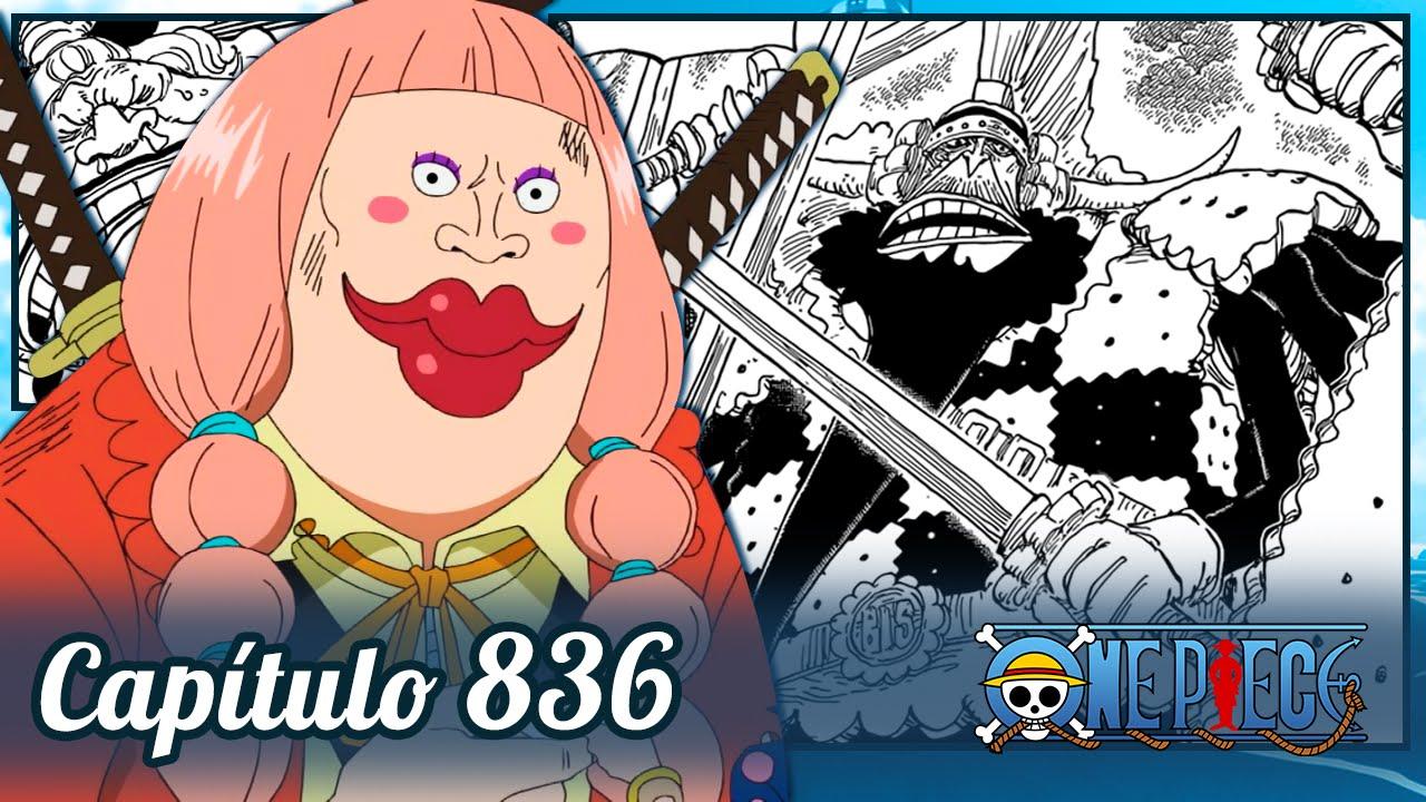 One Piece 836 Lola E O Dna Da Big Mom
