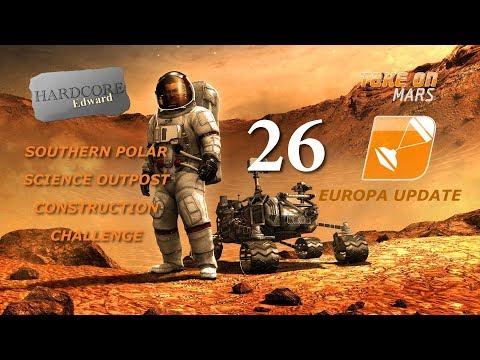 Take on Mars: Europa Update: Let's Play: Sandbox: Polar Outpost Build Part 26