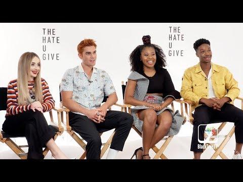 The Hate U Give: Stars Sabrina Carpenter, KJ Apa, Dominique Fishback, Lamar Johnson