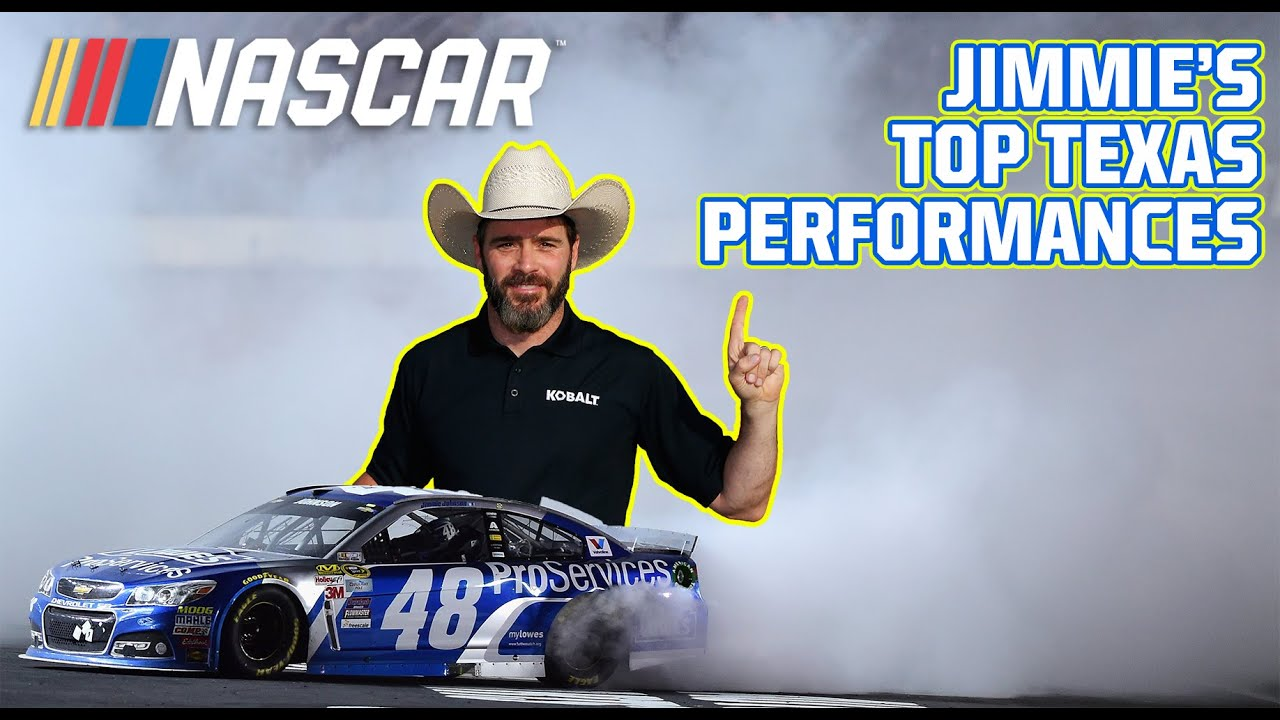 Jimmie's Texas dominance | Best of Jimmie Johnson and Texas  Motor Speedway | Best of NASCAR