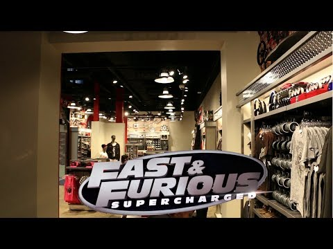 Fast and the Furious Custom Gear Shop at Universal Studios Florida