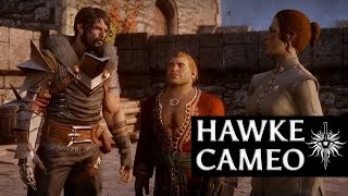 Dragon Age: Inquisition - Hawke Cameo (Anders romance, humorous, male)