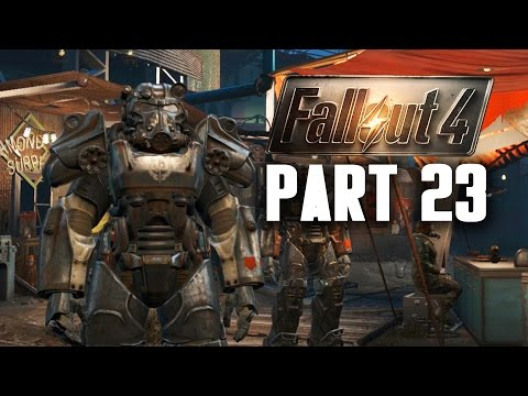 Fallout 4 Walkthrough Part 23 - SAVING VIRGIL ??? (PC Gameplay 60FPS)