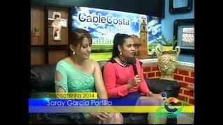 Visita al Estudio de Cable Costa...Comité del Carnaval Coacoatzintla 2014 (1)
