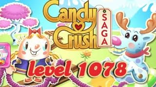 Candy Crush Saga Level 1078 - ★★★