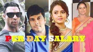 Saath Nibhana Saathiya Cast Per Day Salary