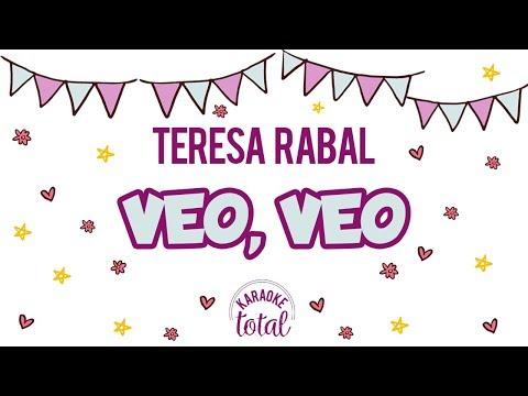 Veo veo - Teresa Rabal - Karaoke con Guia
