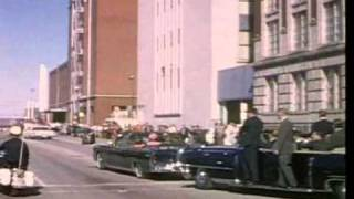 JFK, Kennedy Assassination Clips / stabilized (DeShaker)