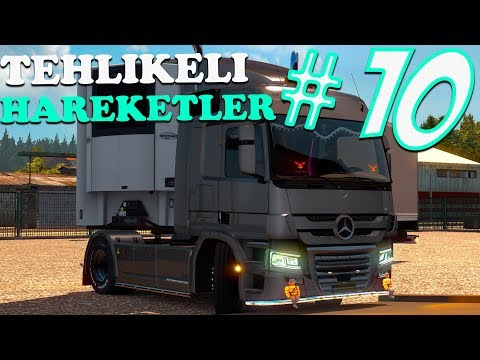 Tehlikeli Hareketler #10 🔴4K 60FPS🔴 Euro Truck Simulator 2