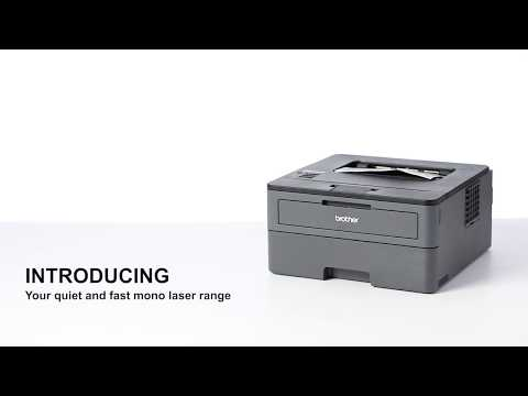 Brother HL-L2375DW Compact A4 Wireless Mono Laser Printer