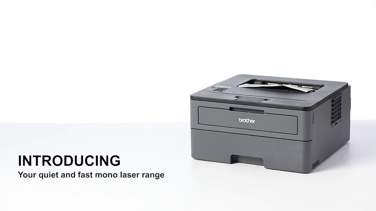 Brother HL-L2375DW Compact A4 Wireless Mono Laser Printer - YouTube 934b95325399