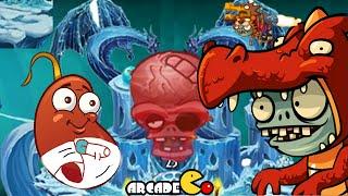 Plants Vs Zombies 2 Dark Ages: Part 2 Arthur's Challenge 71 Chili Beans Lot Of Gas !