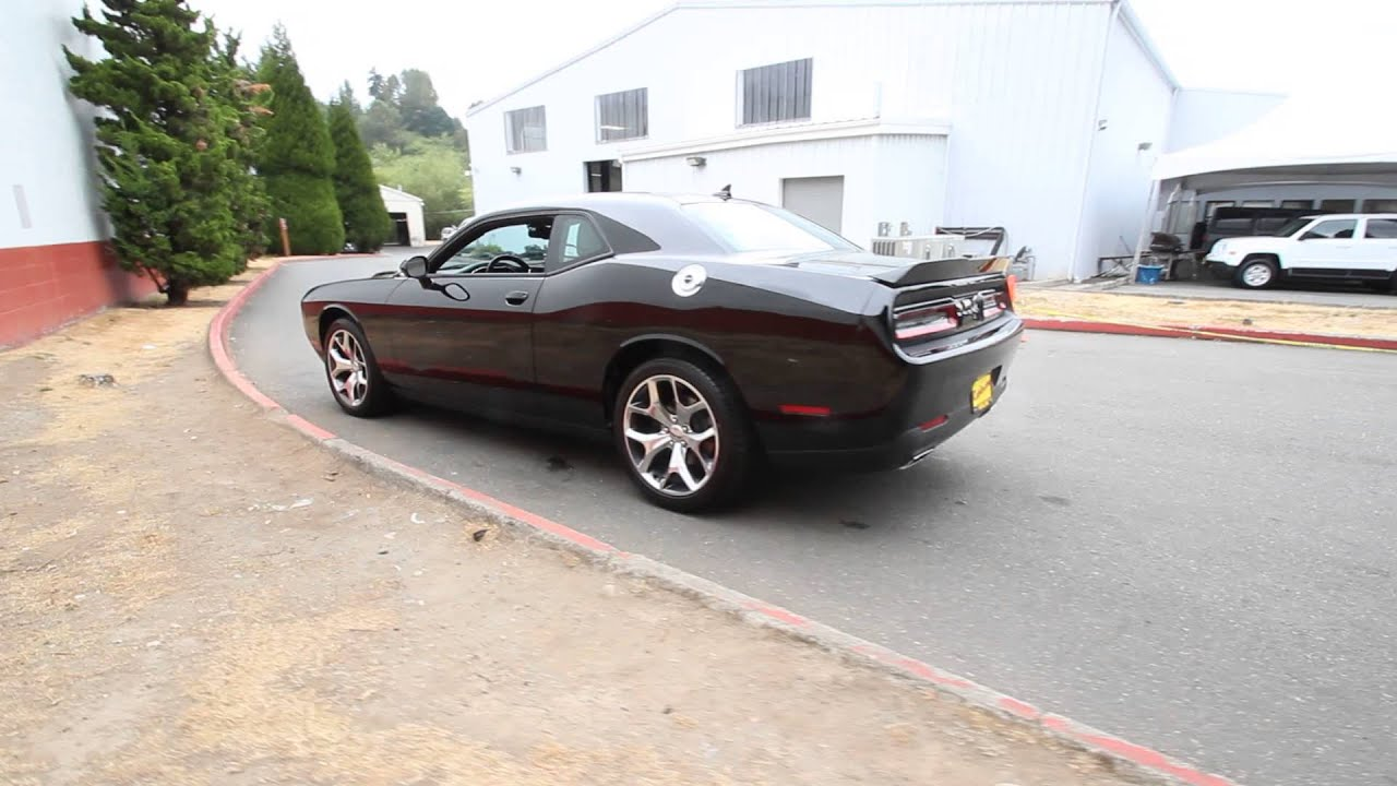 2015 dodge challenger sxt plus brilliant black fh850770 redmond seattle youtube. Black Bedroom Furniture Sets. Home Design Ideas