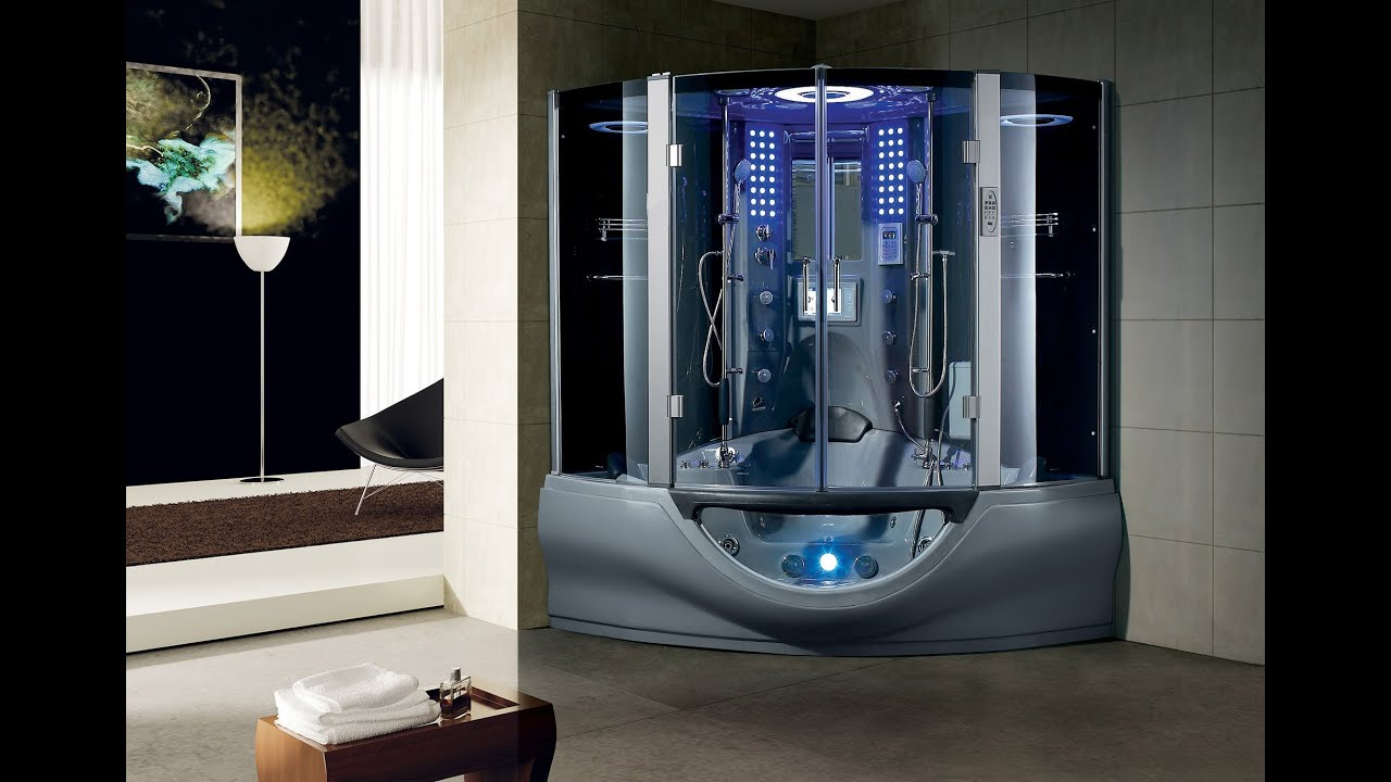 Luxury Valencia Steam Shower by MayaBath.com - YouTube