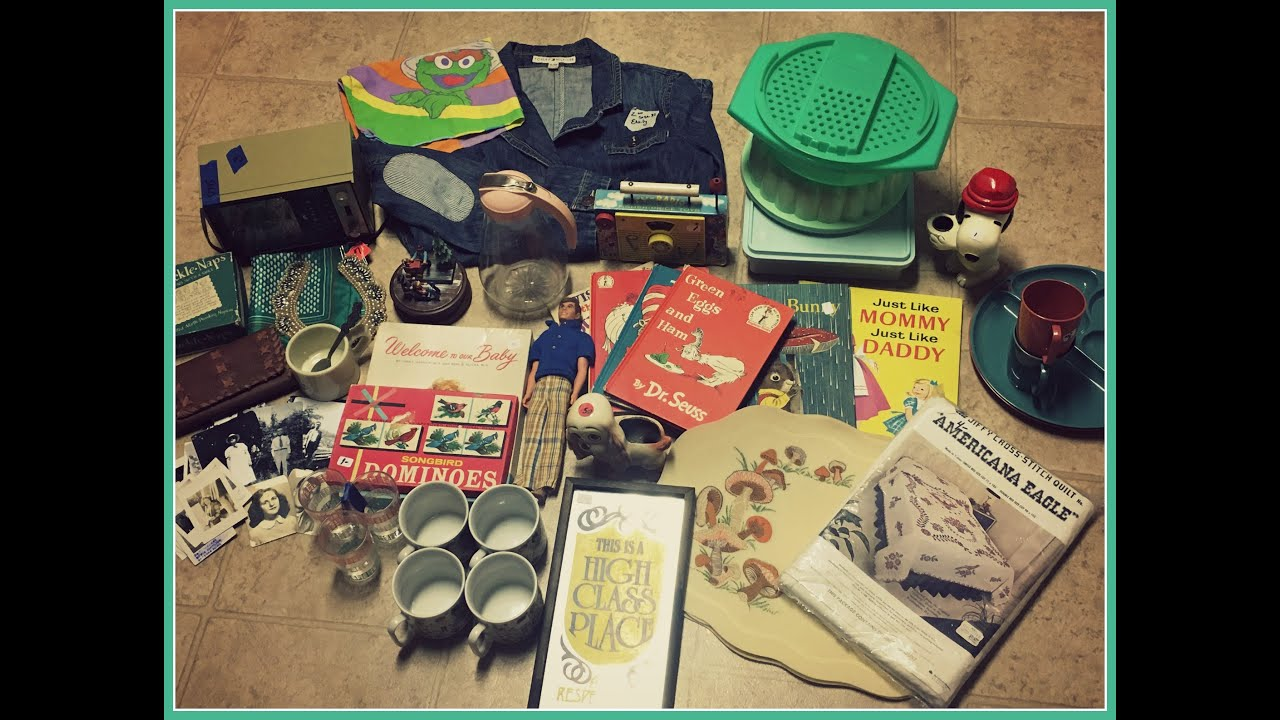My Most Interesting Vintage Haul Yet - To Sell on Etsy and Ebay!