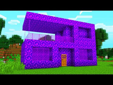 TURNING PLAYERS HOUSE INTO PORTALS ON MINECRAFT...